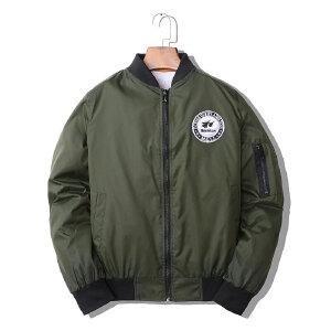 2018新款男士秋冬飞行夹克休闲保暖外套男韩版潮流装棒球服