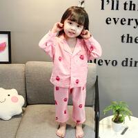 女童睡衣套装薄款1公主2儿童家居服长袖3岁4婴儿女宝宝春秋季