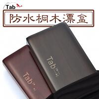 Tab多功能桐木漂盒三合一浮漂盒木制三�� ��~��木�~漂盒大容量
