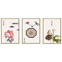 中国风十字绣2019新款小件绣客厅餐厅线绣简单新手小幅画现代中式 图片色