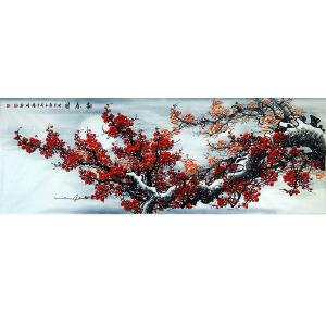 中国美协会员,龙门书画院院长侯桂峰(报春图)  63