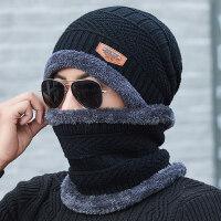 帽子男冬天针织毛线帽加绒加厚韩版潮保暖防寒骑车秋冬季男士棉帽