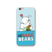 咱们裸熊iPhone6s手机壳苹果7plus可爱卡通8plus全包硅胶软壳情侣
