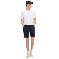 【网易严选 顺丰配送】棉麻系列 男式亚麻休闲短裤