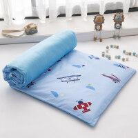 床垫子铺被 家用 婴儿床垫子四季通用小褥子铺被幼儿园宝宝纯棉床褥小孩床垫冬 88x168定制 不支持退货