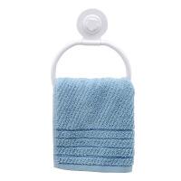 吸盘粘钩毛巾环卷纸器架子厨房卫生间纸巾厕纸架吸钩挂抹布架 图片色