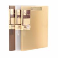 康百B4601/B4611文件夹 A4资料夹 档案夹 票据夹 分类夹 单个色随机