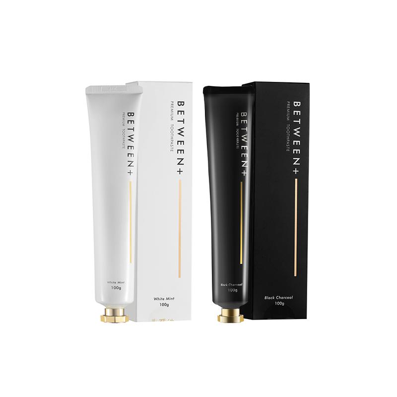 【网易严选 好货直降】韩国制造 净白香氛牙膏Between系列 黑色去口气,白色长留香
