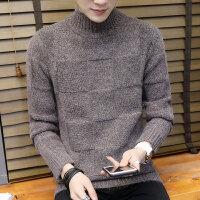 冬季毛衣男半高领潮流加厚男士毛线衣韩版针织衫男保暖男装打底衫