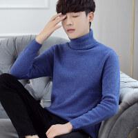 男士毛衣加厚冬季新款潮流高领毛衣男韩版套头针织衫青年线衣宽松