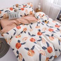 床上用品四件套少女心网红款ins风学生宿舍被单人床单被套三件套3