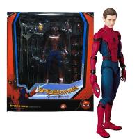 超凡英雄蜘蛛侠豪华版摆件模型玩具公仔关节可动人偶桌面摆件