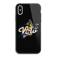 苹果7plus手机壳玻璃NBA科比iphone8黑色个性x全包防摔6s潮流i5se iPhone X