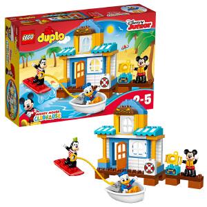 [当当自营]LEGO 乐高 DUPLO得宝系列 米奇和朋友们的海滩别墅 积木拼插儿童益智玩具10827