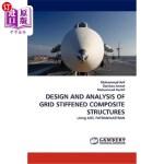 【中商海外直订】Design and Analysis of Grid Stiffened Composite Str