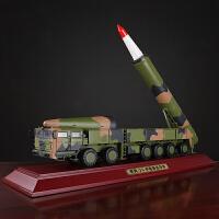 1:30东风DF-26中程反舰弹道远程导弹发射车模型仿真合金送战收藏摆件品质定制