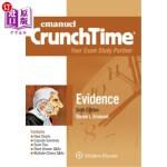 【中商海外直订】Emanuel Crunchtime for Evidence