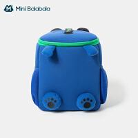 迷你巴拉巴拉儿童书包防水双肩包减负轻便护脊透气动物造型背包