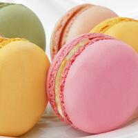 【包邮】法式手工马卡龙12枚 甜点枚早餐蛋糕点手工小面包甜品零食礼盒