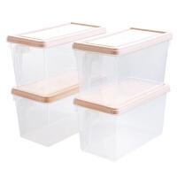 冰箱透明收纳盒大号塑料冷冻盒厨房水果盒子食物鸡蛋保鲜盒