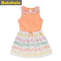 巴拉巴拉女幼童宝宝连衣裙夏装童装