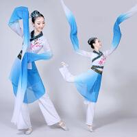新款儿童水袖舞蹈服装古典舞演出服民族女童采薇表演服惊鸿舞女童