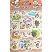 喜羊羊立体情景贴纸:森林乐园 丕欧丕上海贸易有限公司 山东美术出版社