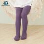 【限时2件4折】迷你巴拉巴拉儿童袜子2019秋新款女童连裤袜春秋跳舞袜舞蹈袜