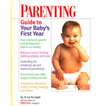 PARENTING GUIDE BABY'S 1ST YR(ISBN=9780345411808) 英文原版