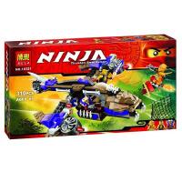 欢乐童年-兼容乐高式幻影忍者L70746狂莽掠夺者直升机ninjago拼装积木玩具10321