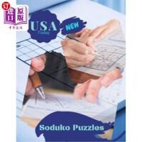 【中商海外直订】USA Today New Soduko Puzzles: Pocket Sized Word Sea