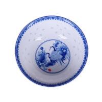 景德镇高档青花陶瓷碗套装米饭碗中式怀旧复古家用*10个餐具碗