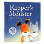 小狗奇普和怪兽Kipper's Monster英文原版绘本 廖彩杏书单 儿童启蒙平装图画故事书 小狗卡皮