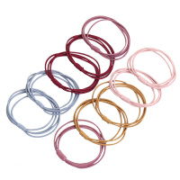 韩国小清新头绳发圈橡皮筋女扎头发绳绑头饰简约个性马尾皮套