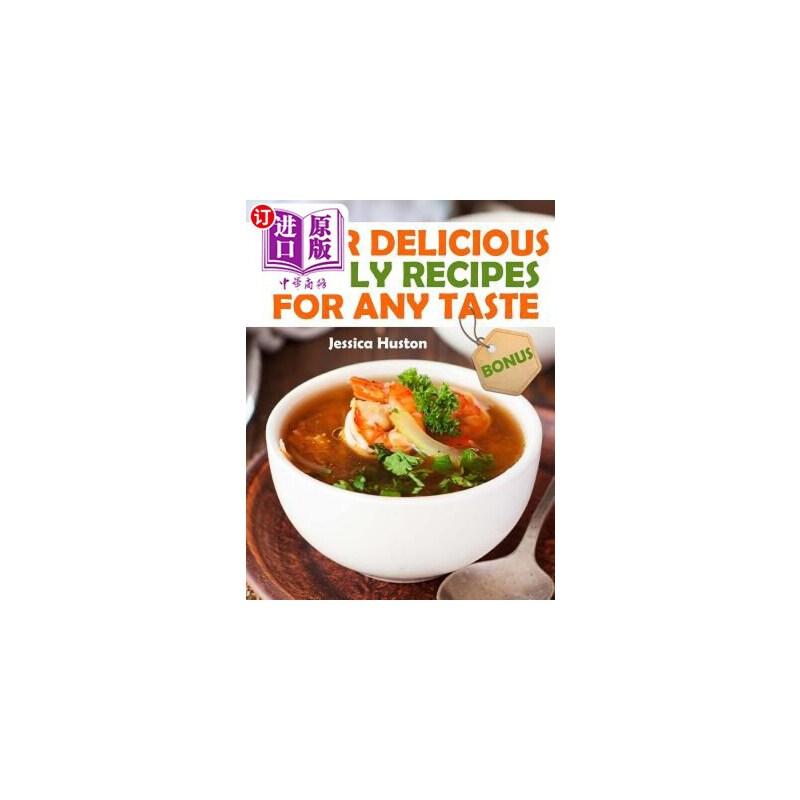 【中商海外直订】Your Delicious Family Recipes For Any Taste 海外发货,付款后预计2-4周到货