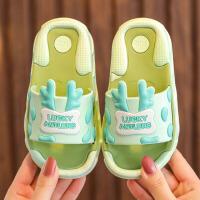 儿童拖鞋 男女童夏季宝宝洞洞鞋软底防滑童鞋小中大童卡通浴室拖凉拖鞋子