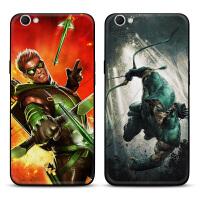 i手机黑壳x9splus/20保护套DC漫画英雄绿箭侠创意欧美风潮