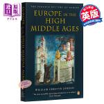 【中商原版】企鹅欧洲史3・中世纪盛期的欧洲 英文原版 Europe in the High Middle Ages: