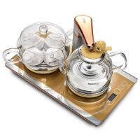 Seko/新功F99全自动上水电热水壶电茶炉套装玻璃家用烧水壶煮茶器