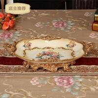 家用高档欧式大号水果盘干果盘家居装饰品奢华客厅茶几摆件婚庆礼物SN1195