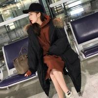 女冬季外套女韩版宽松学生棉衣女中长款加厚棉袄女面包服 S 【建议105斤以下】