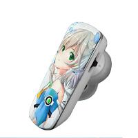 洛天依耳机 周边 卡通无线耳机 动漫蓝牙耳机定制 入耳式耳机 耳麦 蓝牙耳机(送副耳+挂钩)