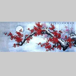 河南省美协会员,河南书画专业委员会委员秦新义(清香报春)12