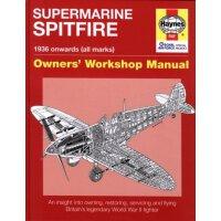 英文原版 Haynes手册 喷火战斗机大揭秘 Supermarine Spitfire: 1936 Onwards