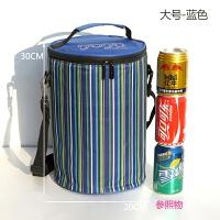 圆形饭盒袋大号手提装保温桶袋子套加厚铝箔保温袋防水小号便当包