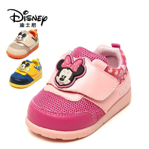 鞋柜/迪士尼童鞋男童米妮休闲运动鞋