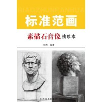 素描石膏像标准范画:袖珍本(电子书)