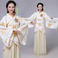 古装曲裾服装仙女唐朝古代汉服演出服古典舞蹈贵妃