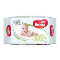 好奇银装婴儿湿巾 清爽洁净倍柔 手口可用 80抽单包装