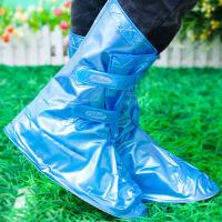 时尚防水鞋套加厚底男女雨天雪天防滑鞋套雨鞋